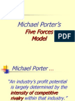 Michael Porter Five forces model