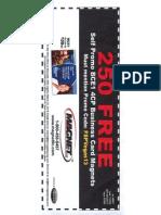 PPAIExpo2013 Magnet LLC biz card magnets free self promo