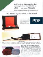 PPAIExpo2013 New England Leather Atalante Bugatti new specials