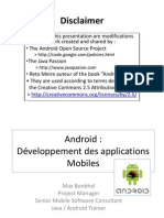 Debuter avec Android