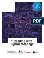 Excelling with Hybrid Meetings - Participant Manual #MPI #EMEC13 #TNOC #IMT