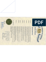 Louisiana Proclamation 2013