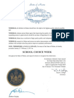 Maine Proclamation 2013