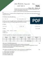 model paper