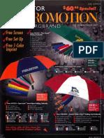 PPAIExpo2013 Stromberg Umbrella self-promo offers