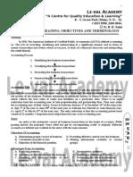 Accounts Basic Notes