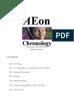 AEon Chronology 2013 Jan 23rd