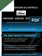 Gems Sensors & Controls   Pressure Sensing Technologies