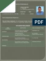 CV, Ing. Luis Rondón