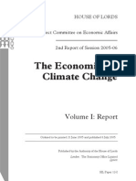 Stern Report - The Economics of Climate Change
