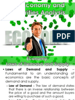 The Economy and Securities Analysis - Business Finance