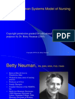Betty Newman Overview Slides