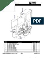 ZEBRA ZMx00 Series Parts Catalog-En