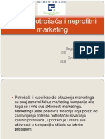 Zaštita potrošača i neprofitni marketing prezentacijaa