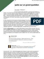 «El País»_ enquête sur un grand quotidien torpillé