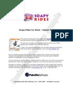 Soapy Rides Carwash Business Plan