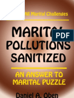 Marital Pollutions Sanitised by Daniel A Oben
