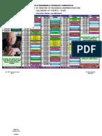 calendar of events- ii sem (MBA)-staff