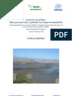 Convivir con el Ebro. Ideas para prevenir y gestionar los riesgos de inundación