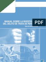 UNODC Manual Investigacion Trata 2010