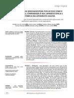 Apendicectomia acesso único x laparoscópica x laparotômica.pdf HABILIDADES CIRURGICAS I-TEXTO