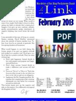 February 2013 LINK Newsletter