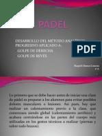 Golpeos de Padel