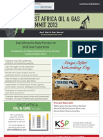 2nd East Africa Oil & Gas Summit 2013