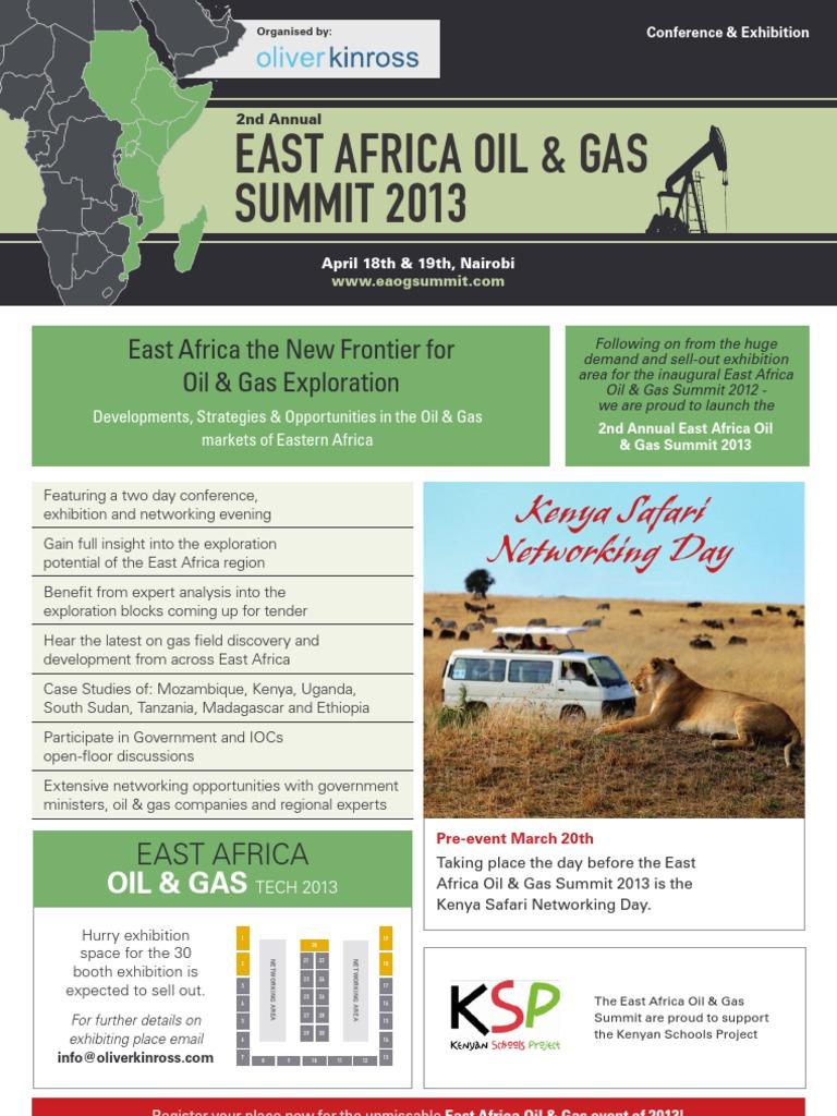 2nd East Africa Oil & Gas Summit 2013 | East Africa | Kenya