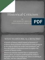 Historical Criticism