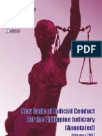 New Code of Judicial Conduct Annotated