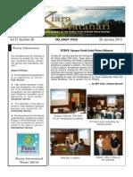 RCBKS Bulletin Vol 21 No 26