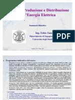 Sistemi di produzione e distribuzione dell'energia elettrica