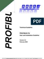 Guideline for PROFIBUS-DP/FMS