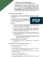 Edital Delegado MS 2013