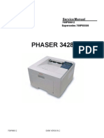Phaser 3428 Service Manual