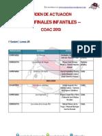 Semifinal Infantiles 1er