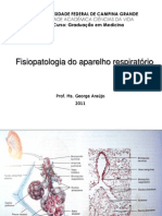 AULA - FISIOPATOLOGIA RESPIRATÓRIO