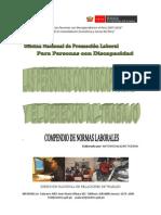 Compendio Normas Laborales Personas Discapacidad