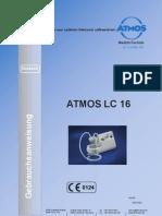 Atmos LC16 service manual
