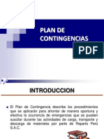 Plan de Contingencia Scrib