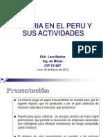 Mineria en Perú y sus Actividades