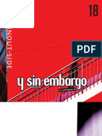 Y SIN EMBARGO magazine 18, inout side