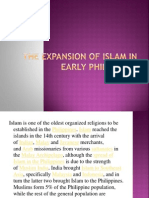 The Expansion of Islam in Early Philippines