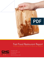 Fastfood Report