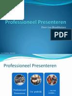 Powerpoint versie Effectief presenteren