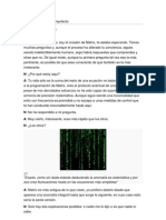 Diálogos matrix