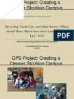 GPS Project PowerPoint Presentation