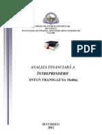 Evaluare financiara Transgaz