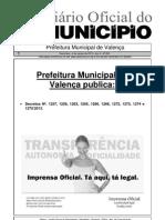 Diario Oficial Do Municipio de Valenca Bahia Edicao 603